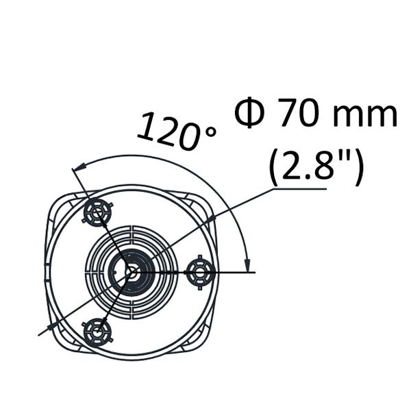 HiWatch DS-I200(C) цилиндрическая IP-видеокамера с EXIR-подсветкой до 30м