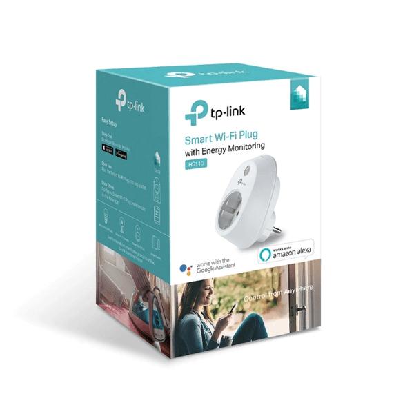 Умная Wi-Fi розетка с мониторингом энергопотребления TP-Link HS110
